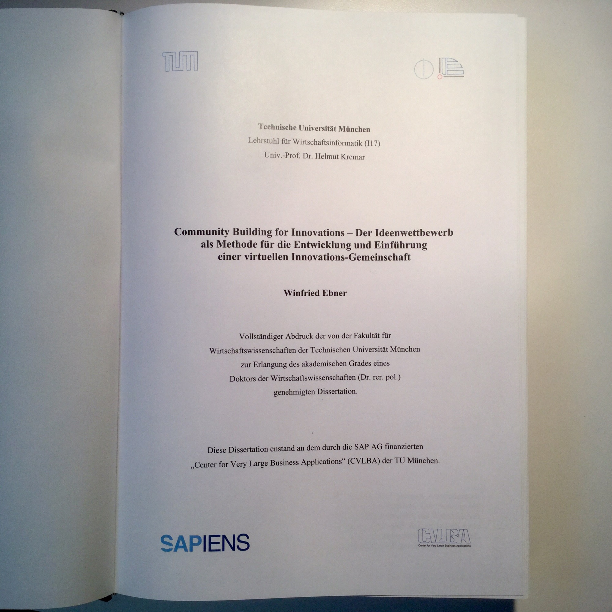 Dissertation WEb